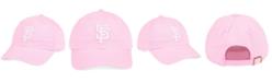 '47 Brand San Francisco Giants Pink CLEAN UP Strapback Cap