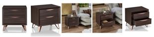 Furniture of America Gilze Modern Nightstand