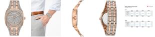 Bulova Men's Two-Tone Stainless Steel Bracelet Watch 40mm