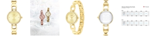 COACH Women's Park Gold-Tone Bracelet Watch 26mm