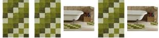 Better Trends Tiles 2 Piece Bath Mat Set
