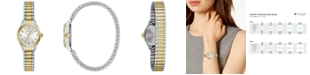 Caravelle Women's Two-Tone Stainless Steel Bracelet Watch 24mm