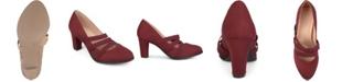 Journee Collection Women's Comfort Loren Heels