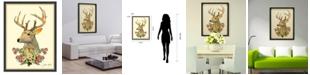 Empire Art Direct 'Mrs. Deer' Dimensional Collage Wall Art - 25'' x 33''