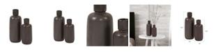 Howard Elliott Graphite Ceramic Bottle Vase Set