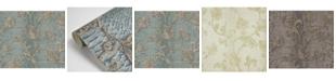 "Brewster Home Fashions Brewster 21"" x 396"" Puglia Light Python Arabesque Wallpaper"