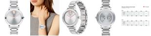 Movado Women's Evolution Swiss Bold Stainless Steel Bracelet Watch 34mm