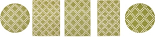 Bridgeport Home Arbor Arb4 Green Area Rug Collection