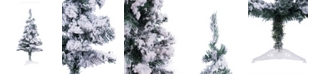 Perfect Holiday Flocked Snow Christmas Tree Collection