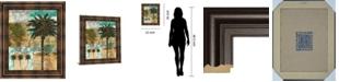 "Classy Art Palm III by Maeve Fitzsimons Framed Print Wall Art, 22"" x 26"""