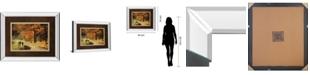 """Classy Art Autumns Morning Light by D. Burt Mirror Framed Print Wall Art, 34"""" x 40"""""""