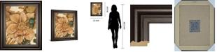 """Classy Art Fleurs De Bois by Maja Framed Print Wall Art, 22"""" x 26"""""""