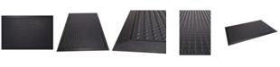 "Envelor Bubble Shoe Scraper Rubber Floor Mat, 24"" x 36"""