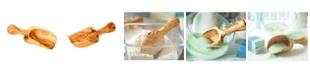 BeldiNest Olive Wood Flour Scoop 1 Cup