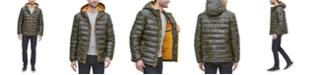 Cole Haan Men's Faux-Leather Puffer Coat
