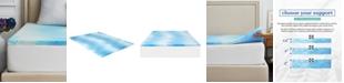 """Sealy 1.5"""" Gel Memory Foam Mattress Topper , Full"""