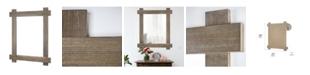 Crystal Art Gallery American Art Decor Wood Wall Vanity Mirror