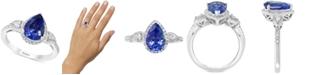 EFFY Collection EFFY® Tanzanite (1-3/4 ct.t.w.) & Diamond (1/3 ct. t.w.) Ring in 14k White Gold
