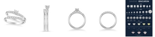 Macy's Diamond Twist Bridal Set (5/8 ct. t.w.) in 14k White, Yellow or Rose Gold