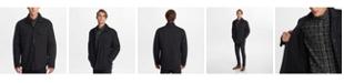 Karl Lagerfeld Paris Men's Faux Sherpa Lined Shirt Jacket