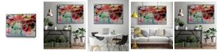 "Giant Art 20"" x 16"" Really II Art Block Framed Canvas"