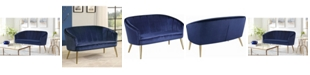 Macy's Coaster Home Furnishings Upholstered Accent Settee