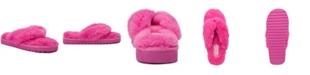 Sugar Women's Hurry Fuzzy Flip Flop Slippers