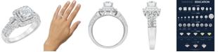 Macy's Diamond Engagement Ring (1 1/4 ct. t.w.) in 14k White Gold