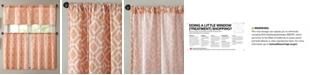 "Madison Park Delray Diamond-Print 60"" x 36"" Twill Kitchen Tier"