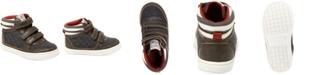 Carter's Terry High-Top Casual Sneakers, Toddler Boys & Little Boys