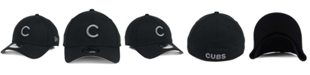 New Era Chicago Cubs Black and Charcoal Classic 39THIRTY Cap