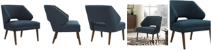 Modway Dock Upholstered Fabric Armchair