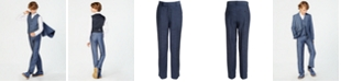 Calvin Klein Big Boys Plain Weave Suit Pants