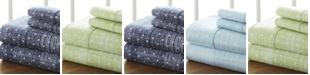 ienjoy Home The Timeless Classics by Home Collection Premium Ultra Soft Pattern 4 Piece Bed Sheet Set - Full