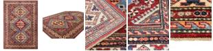 """BB Rugs Fine Kazak 610744 Multicolor 4'9"""" x 7'1"""" Area Rug"""