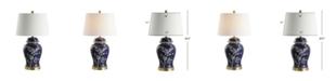 JONATHAN Y Gracie Ginger Jar Ceramic/Metal LED Table Lamp