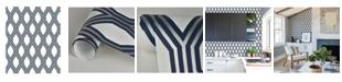 "Brewster Home Fashions Honeycomb Geometric Wallpaper - 396"" x 20.5"" x 0.025"""