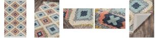 """Novogratz Collection Novogratz Indio Ind-2 Multi 2'3"""" x 7'10"""" Runner Area Rug"""