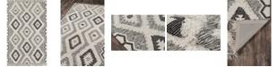 "Novogratz Indio Ind-5 Black 7'6"" x 9'6"" Area Rug"