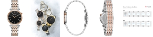 Bulova Women's Regatta Two-Tone Stainless Steel Bracelet Watch 30mm