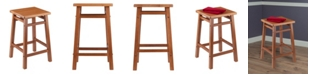 """Winsome 24"""" Carter Counter Stool"""