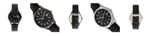 Elevon Men's Concorde Genuine Leather Strap Watch 41mm
