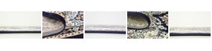 Bridgeport Home Zara Zar6 Navy Blue Area Rug Collection