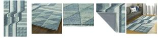 Kaleen Alzada ALZ02-17 Blue 9' x 12' Area Rug