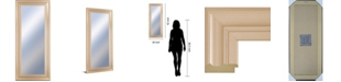 """Classy Art Decorative Framed Wall Mirror, 18"""" x 42"""" Collection"""
