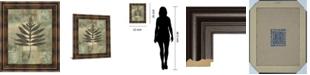 "Classy Art Leaf Textures I by Norman Wyatt, Jr. Framed Print Wall Art, 22"" x 26"""