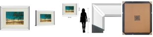 """Classy Art Sea Landscapes by Patricia Pinto Mirror Framed Print Wall Art, 34"""" x 40"""""""