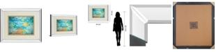 "Classy Art Under The Sea by Julie Derice Mirror Framed Print Wall Art, 34"" x 40"""