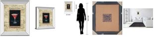 "Classy Art Cosmopolitan by Gregory Gorham Mirror Framed Print Wall Art, 22"" x 26"""