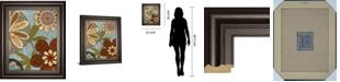 "Classy Art Persian Garden II by Katrina Craven Framed Print Wall Art, 22"" x 26"""